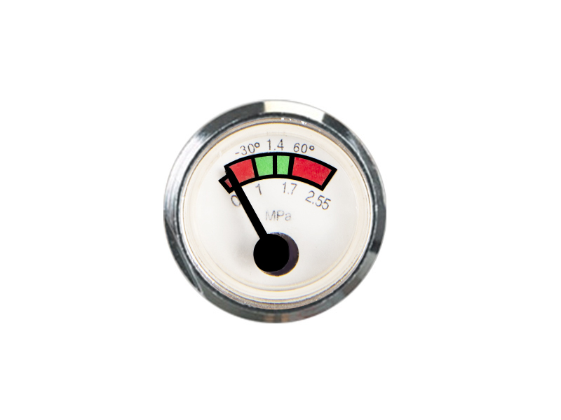 Selection of precision pressure gauge range