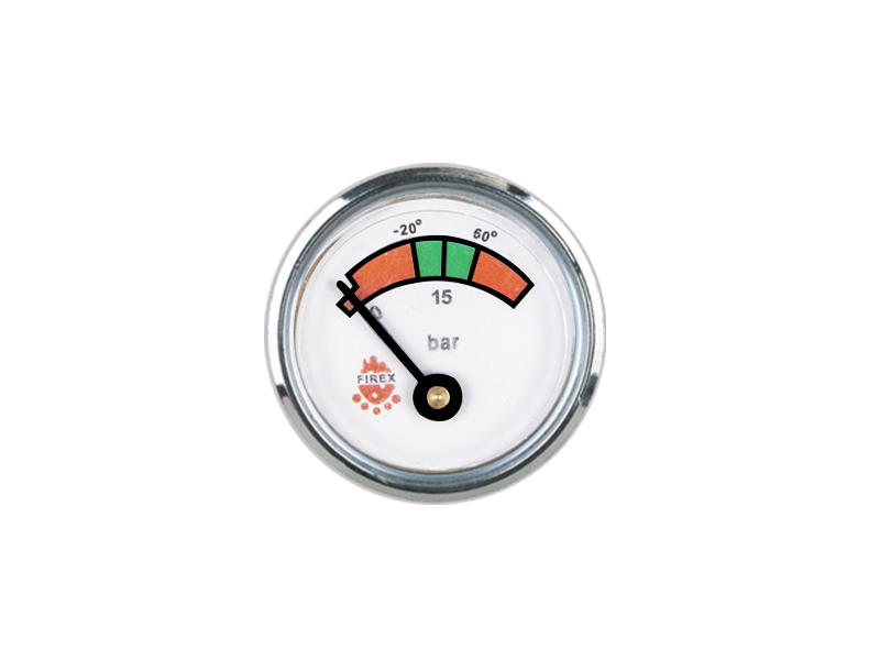 35MM DIAPHRAGM PRESSURE GAUGE STAINLESS STEEL