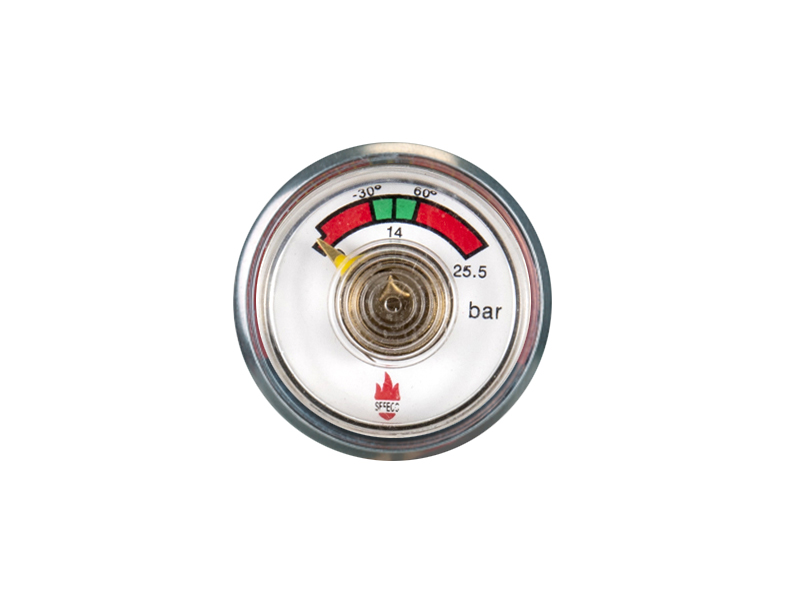 ABC-KD-BT12-30mm Bourdon tube pressure gauge