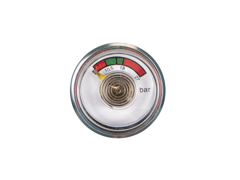 ABC-KD-BT15-30mm Bourdon tube pressure gauge