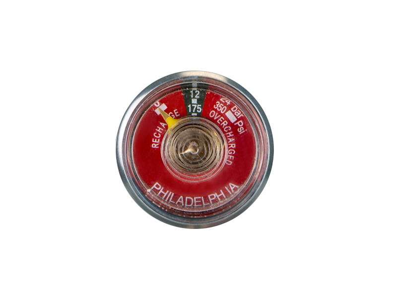 ABC-KD-BT17-30mm Bourdon tube pressure gauge