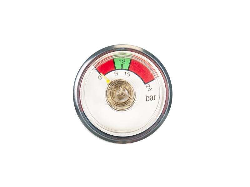 KDBT-P17-37mm Bourdon tube pressure gauge
