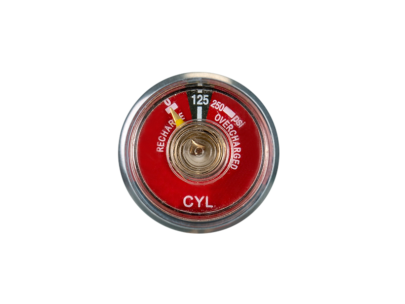 ABC-KD-BT18-30mm Bourdon tube pressure gauge