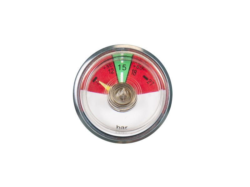 KDBT-P23-37mm Bourdon tube pressure gauge