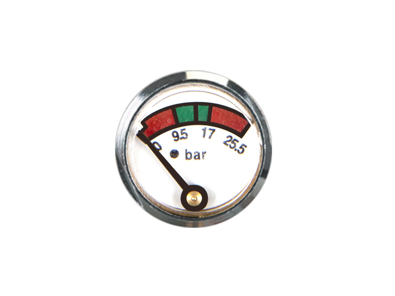 KD2-J26-23mm Diaphragm pressure gauge