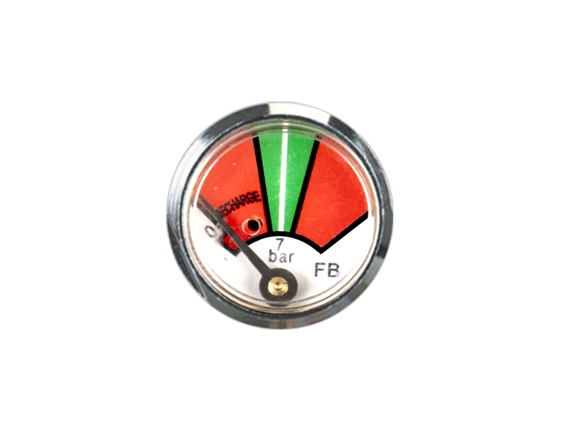 KD2-J34-23mm Diaphragm pressure gauge