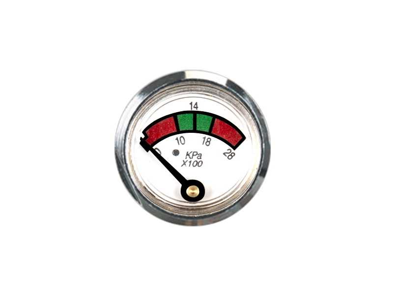 KD2-J38-23mm Diaphragm pressure gauge