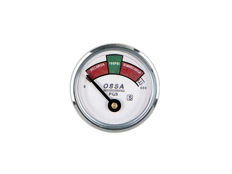 35MM DIAPHRAGM PRESSURE GAUGE NICKEL PLATED