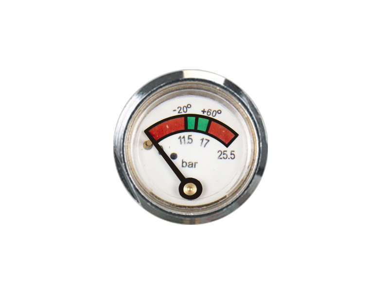KD2-J44-23mm Diaphragm pressure gauge