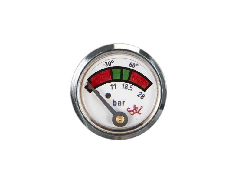 KD2-J45-23mm Diaphragm pressure gauge
