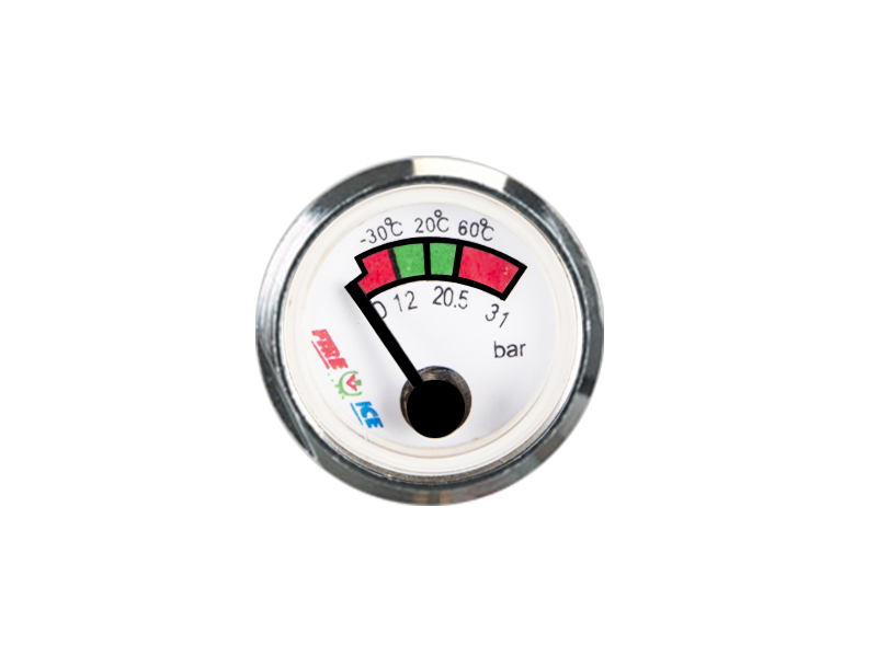 HIGH QUALITY SPRING PRESSURE GAUGE GLASS MIRROR