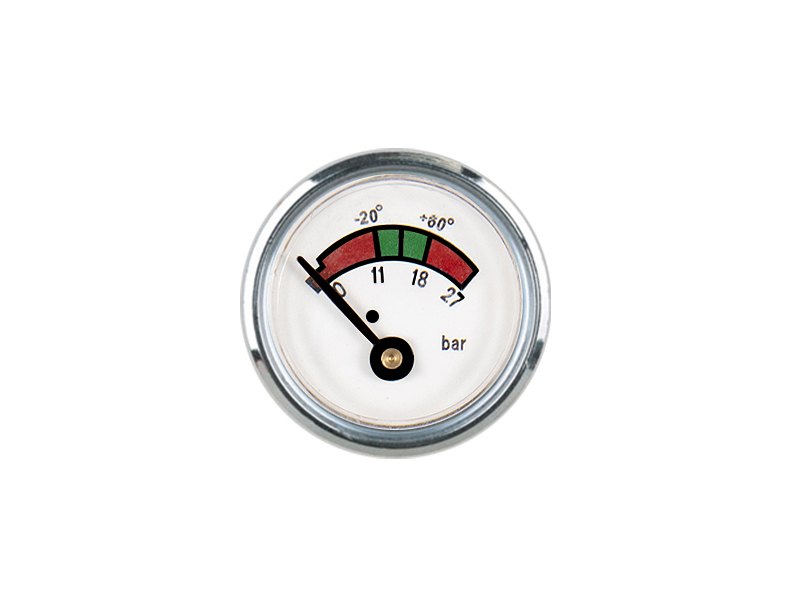 35MM DIAPHRAGM PRESSURE GAUGE PC PLASTIC