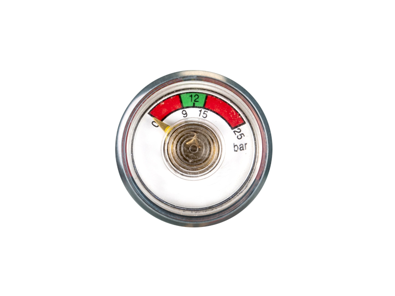 ABC-KD-BT07-30mm Bourdon tube pressure gauge