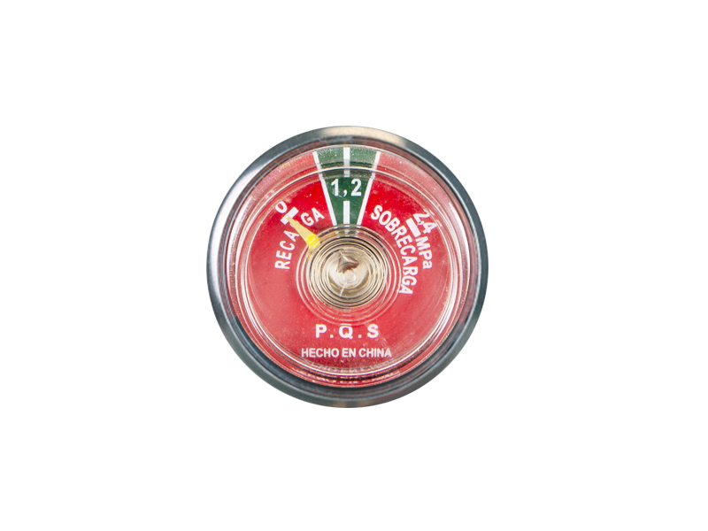 FIRE EXTINGUISHER PARTS 37MM BOURDON TUBE PRESSURE GAUGE
