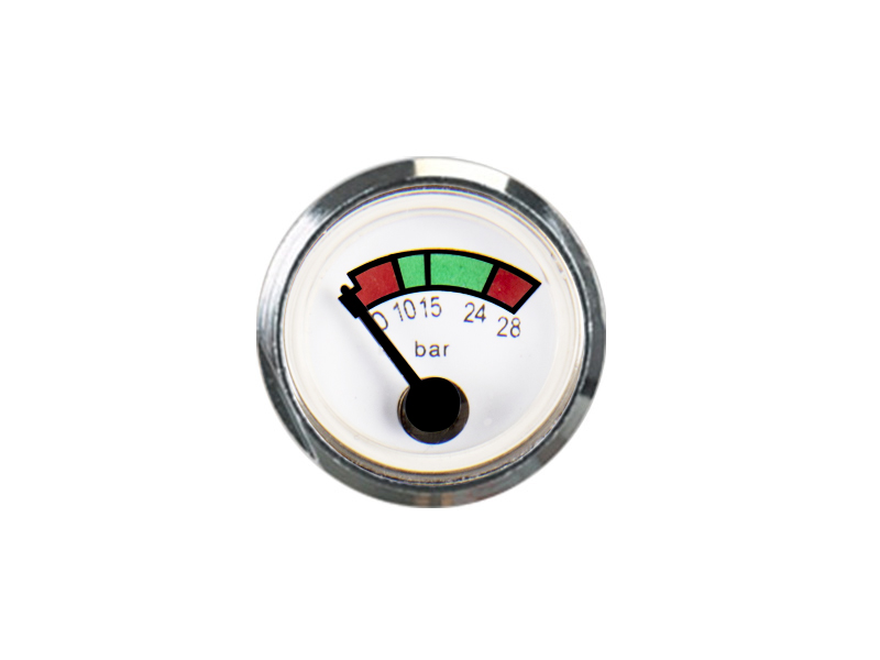 SPRING PRESSURE GAUGE PORTABLE FIRE EXTINGUISHER