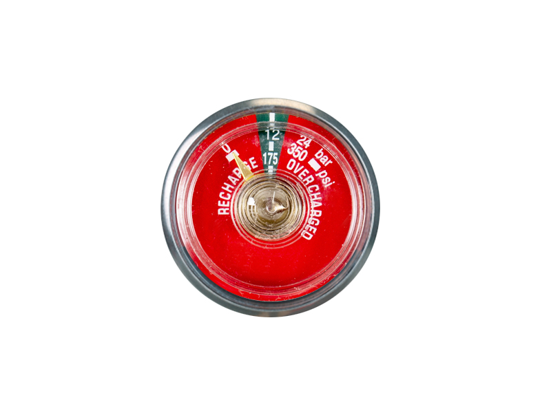 37MM BOURDON TUBE DRY CHEMICAL PRESSURE GAUGE FOR FIRE EXTINGUISHER