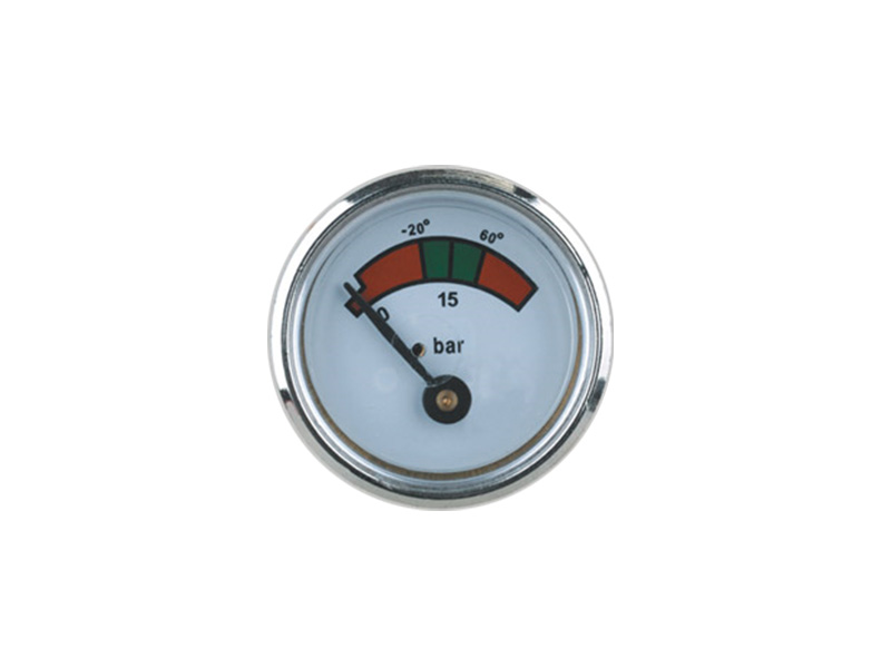 35MM DIAPHRAGM PRESSURE GAUGE FOR CLEANING FIRE EXTINGUISHERS