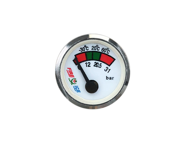 27 MM TYPE SPRING PRESSURE GAUGE OF PORTABLE FIRE EXTINGUISHER