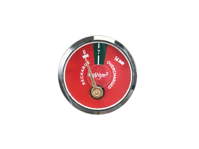 DIAPHRAGM TYPE FIRE EXTINGUISHER TYPE SPRING PRESSURE GAUGE FOR FIRE EXTINGUISHER